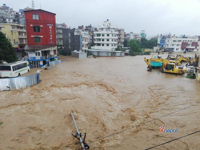काठमाडौंको कलंकी डुबानमा (तस्विरसहित)