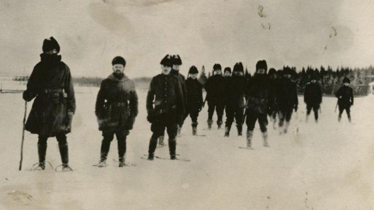 सय वर्ष पहिला जब अमेरिकी सैनिकहरुले रुसमाथि आक्रमण गरे
