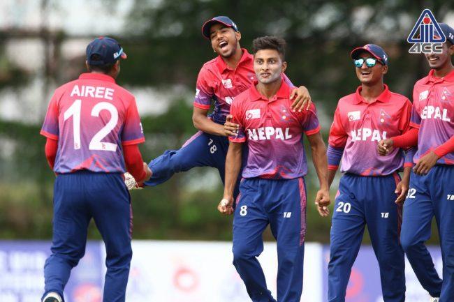 अण्डर १९ एसिया कपमा नेपाल सजिलो समूहमा, पहिलो खेल श्रीलंकासँग