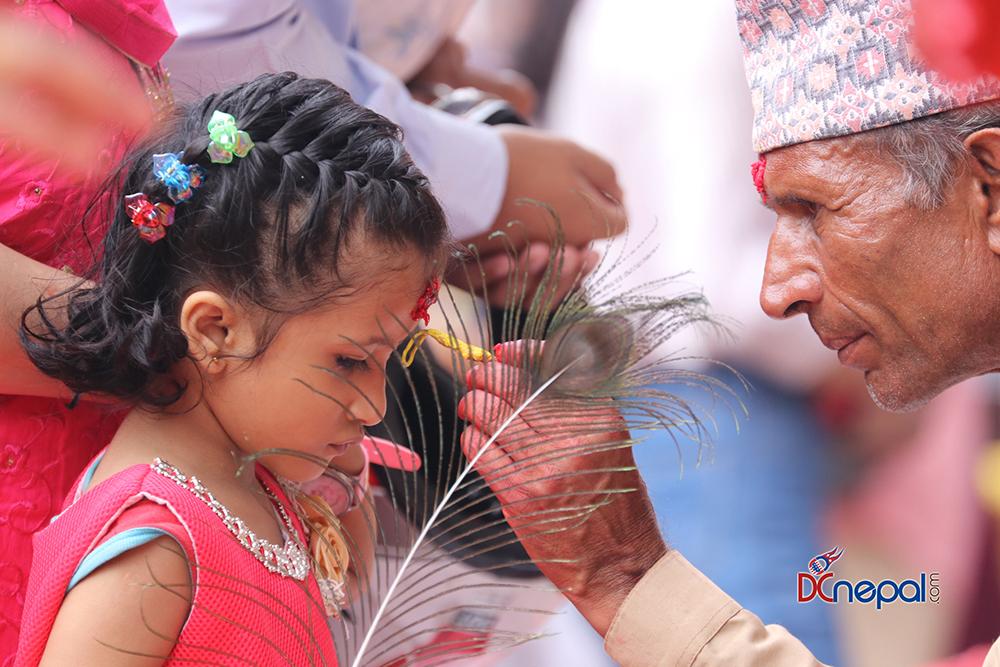 ११ तस्वीरमा हेर्नुहोस पाटनको कृष्ण मन्दिरमा श्रीकृष्ण जन्माष्टमीको रौनक