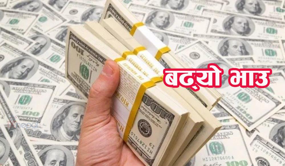 आज पनि बढ्यो अमेरिकी डलर र कतारी रियालको भाउ, (२० देशको तालिकासहित)