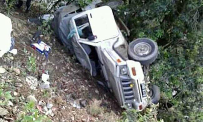अछाममा जीप दुर्घटना, चालकसहित ३ जनाको मृत्यु