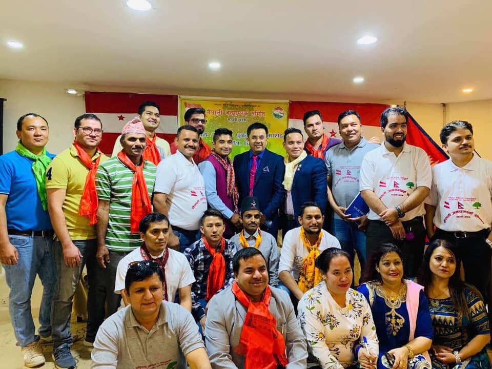 नेपाली जनसम्पर्क समिति साउदीअरबकाे मध्यक्षेत्रीय समिति पुनर्गठन