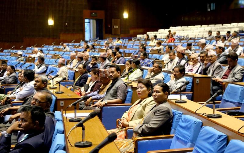नेकपा पार्टी कार्यालयको विषय संसदमा प्रवेश