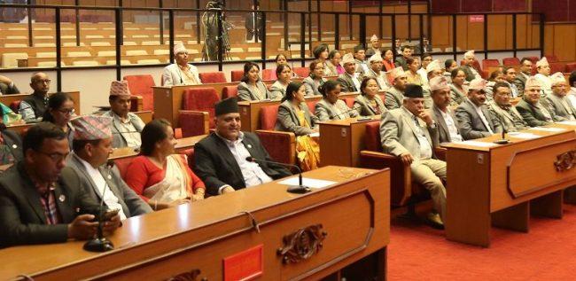 राष्ट्रियसभा बैठक : सङ्घीय लोकतान्त्रिक गणतन्त्रविरुद्ध हुने गतिविधि रोक्न माग