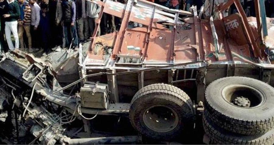 नवलपरासीमा भारतीय ट्रक दुर्घटना, चालकको मृत्यु, सहचालक गम्भीर