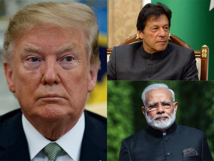 काश्मिरबारे भारत र पाकिस्तानी प्रधानमन्त्रीसँग ट्रम्पको फोन वार्ता