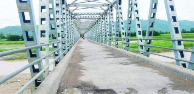 दाङको लमही–कोइलावास सडकखण्डको राप्ती नदीको पुल जीर्ण