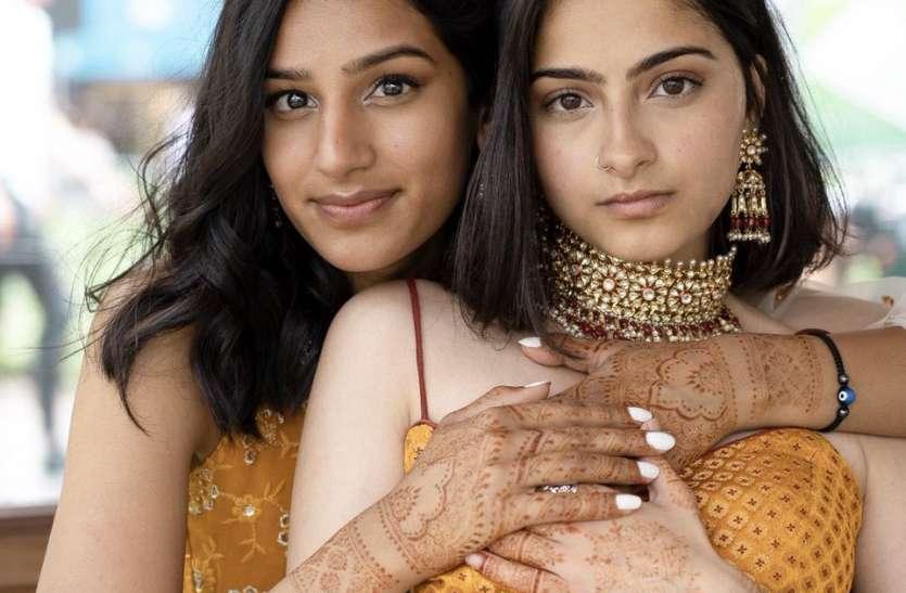 हिन्दु र मुस्लिम युवतीले गरे विवाह, समाजिक संजालमा भाइरल दुई युवतीको फोटो