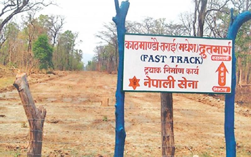 द्रुतमार्ग निर्धारित समयमै पूरा गर्छौः नेपाली सेना