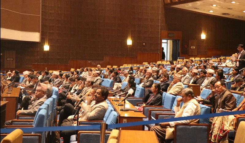 प्रतिनिधिसभा बैठक : क्षेत्रगत विषयमा सरकारको ध्यानाकर्षण