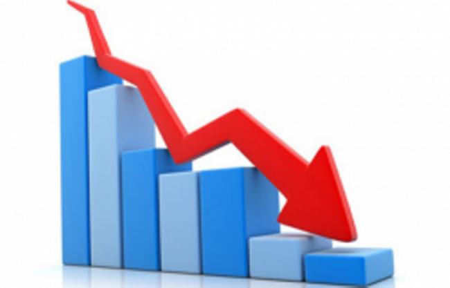 शेयर बजार :  फेरि नेप्से दोहोरो अङ्कले घट्यो