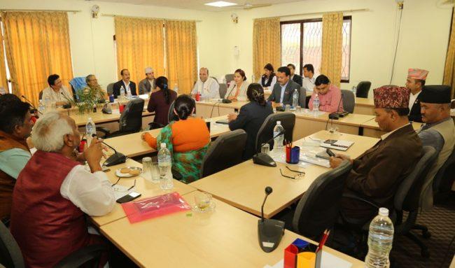 राजनीतिक आस्थाका आधारमा कर्मचारी सरुवा गर्ने प्रावधान नराख्न सुझाव