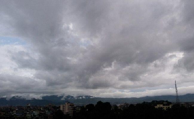 काठमाडौंमा २४ घण्टा वर्षा