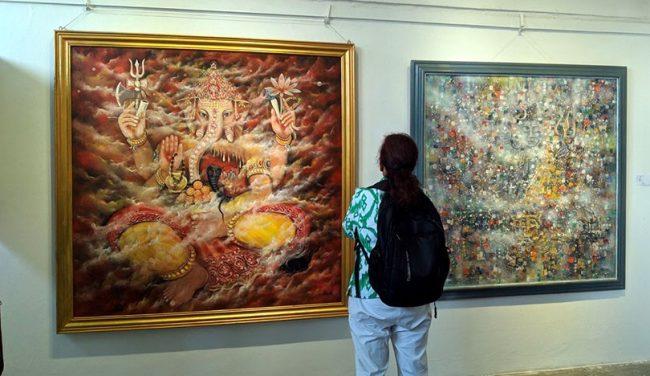 ४ देशीय कला प्रदर्शनी, सम्बन्ध विस्तार र सिक्ने अवसर