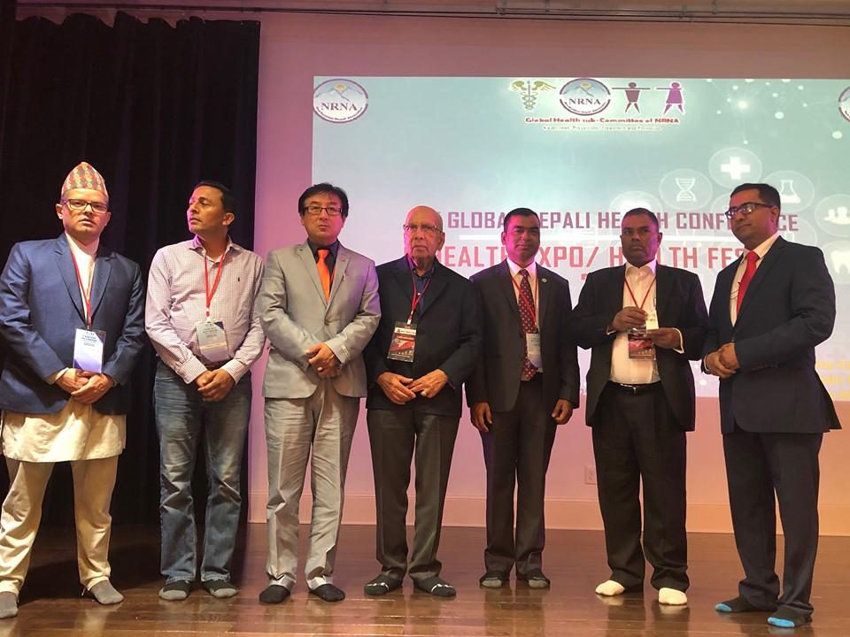 एटलाण्टा घोषणापत्र जारी गर्दै एनआरएनएको विश्व नेपाली स्वास्थ्य कन्फेरेन्स सम्पन्न