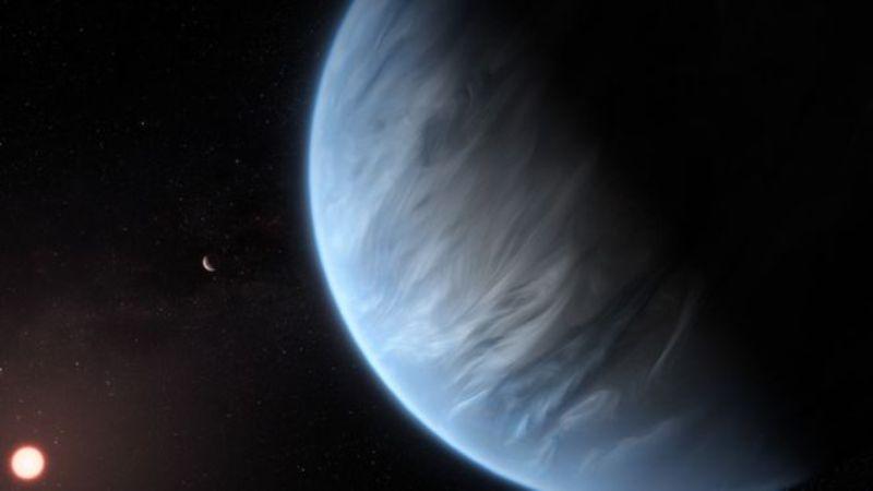 पृथ्वीभन्दा धेरै टाढा रहेको एउटा ग्रहमा पानी भेटियो!
