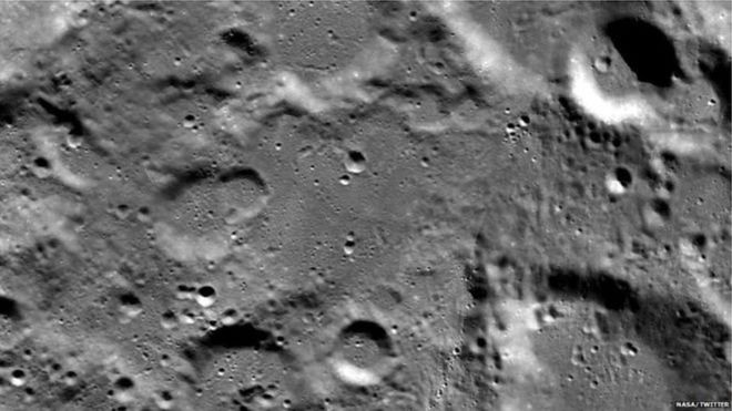 नासाले फेरि पठायो चन्द्रयान–२ का तस्बिर