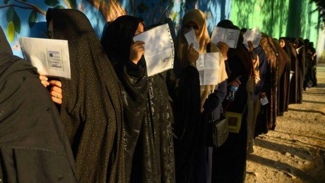 कडा सुरक्षाकाबीच अफगानिस्तानमा मतदान सम्पन्न