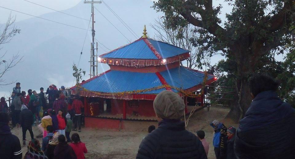 इच्छाकामना मन्दिर पुनःनिर्माणका लागि आर्थिक अभाव