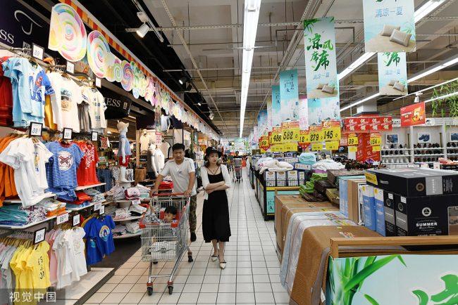 चीनको खुद्रा बजारको बिक्री दरमा वृद्धि