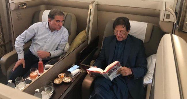 इमरान खान अमेरिकाबाट–पाकिस्तान फर्किंदा विमान उडिसकेपछि खराबी भेटियो