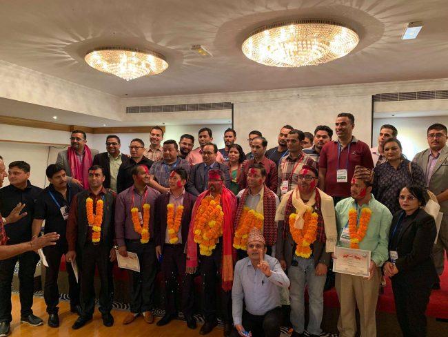 नेपाली समाज युएईको नेतृत्वमा गोविन्द ढकाल विजयी