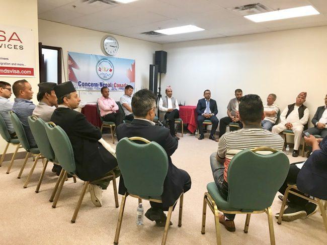 क्यानाडामा 'नेपाल भ्रमण वर्ष २०२०' को तयारी