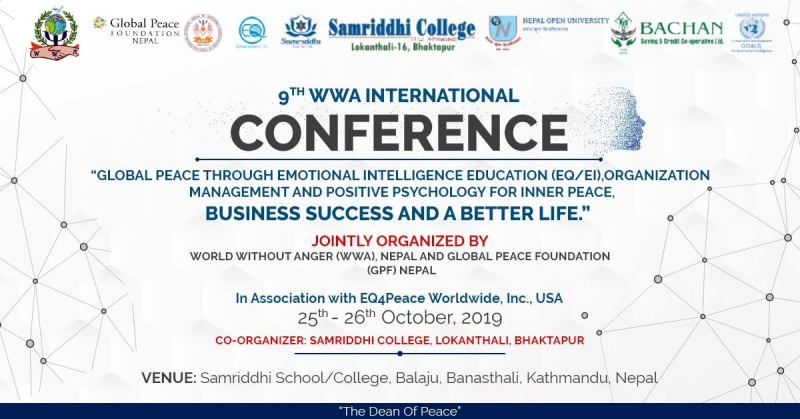 9 th Peace and Emotional Literacy International Conference to be held in Kathmandu