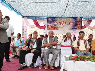 बुद्ध जन्मस्थल लुम्बिनी निग्लिहवामा भाद्र पूर्णिमा उत्सव