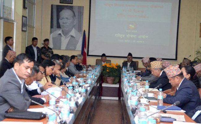विकास समस्या समधान समितिको बैठकमा मुख्यमन्त्रीहरुको एउटै स्वर 'तीन तहबीच समन्वय हुनुपर्छ'