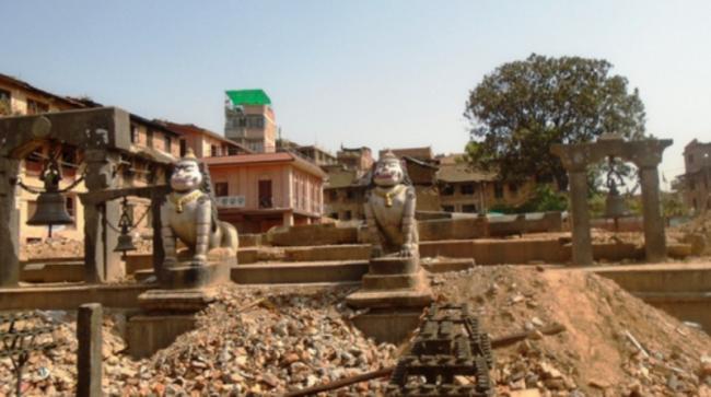 ललितपुरको प्रसिद्ध रातो मच्छिन्द्रनाथ मन्दिरको पुनर्निर्माण शुरु