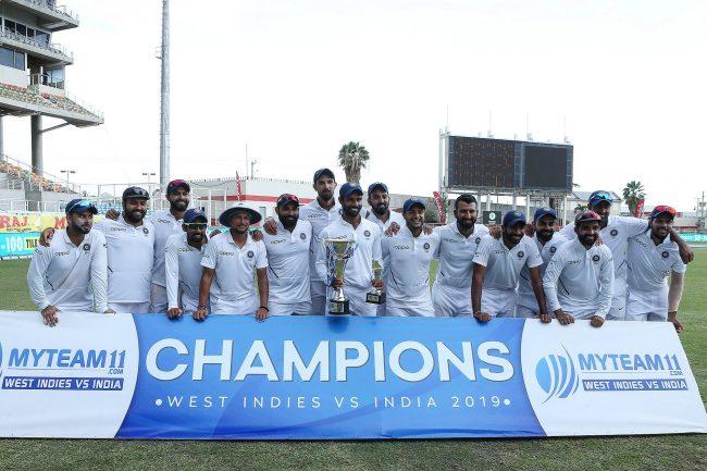 भारतद्वारा टेस्ट सिरिज 'क्लीन स्वीप', कप्तान कोहलीले बनाए अर्को रेकर्ड