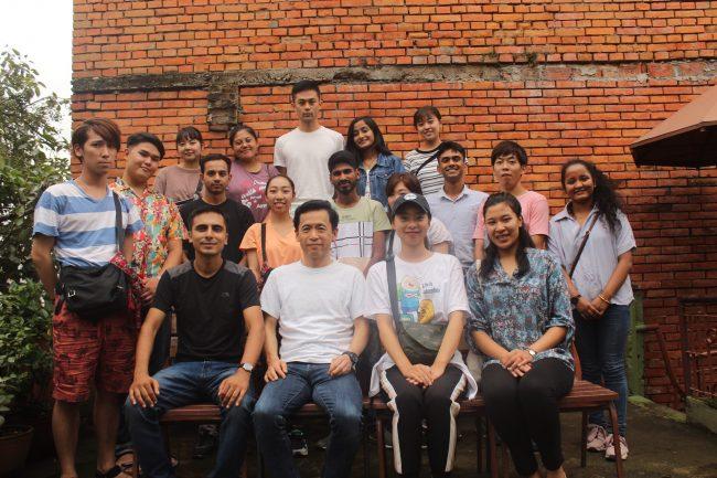 जापानिज विद्यार्थी टोली नेपालमा, नेपाली विद्यार्थीसँग 'मेरो साथी' अभियानमा व्यस्त