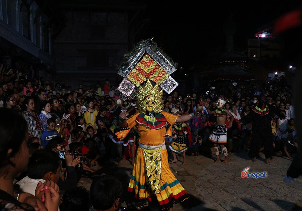 वसन्तपुरमा महाकाली नाचको रौनक (फोटोफिचर)