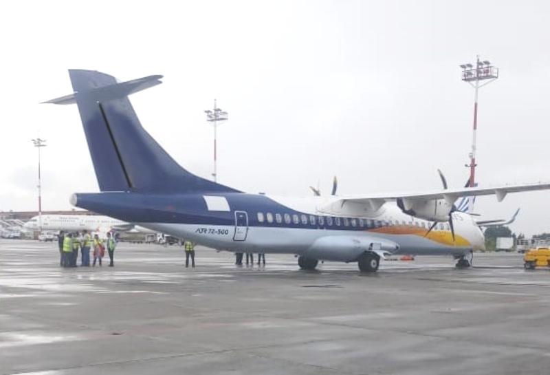 काठमाडौं आईपुग्यो बुद्ध एयरलाइन्सको १३ औं जहाज