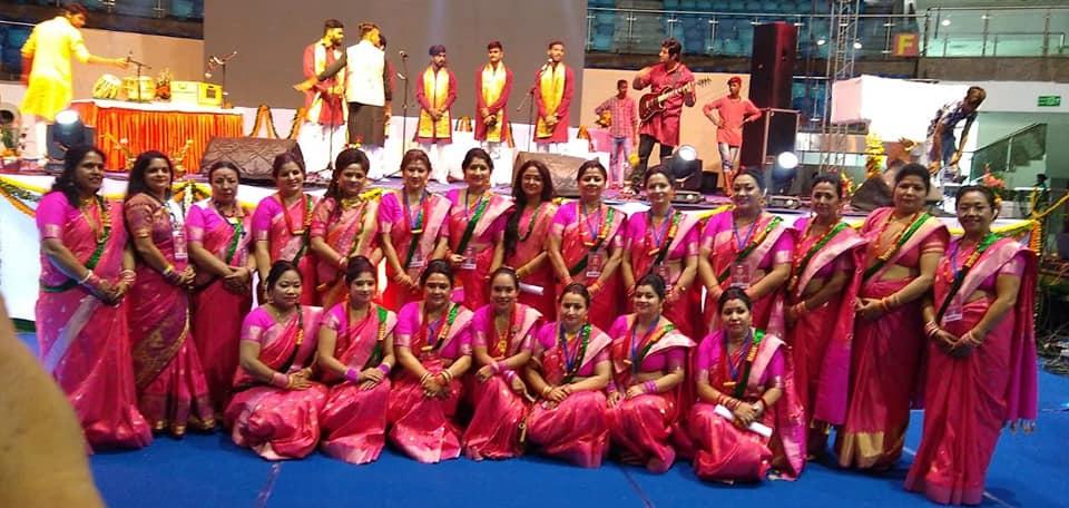 हाम्रो स्वाभिमान ट्रस्टद्वारा दिल्लीमा तीज कार्यक्रम