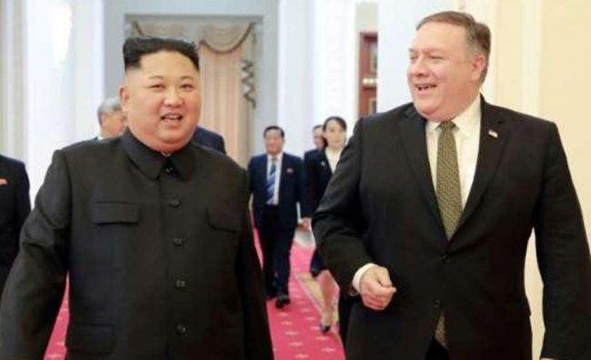 अमेरिकी विदेशमन्त्री पोम्पेओको उत्तर कोरियाद्वारा आलोचना