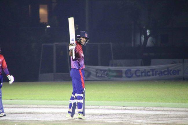 तस्बिरमा हेर्नुहोस् नेपाल–सिंगापुर टि–ट्वान्टी क्रिकेट (फोटोफिचर)