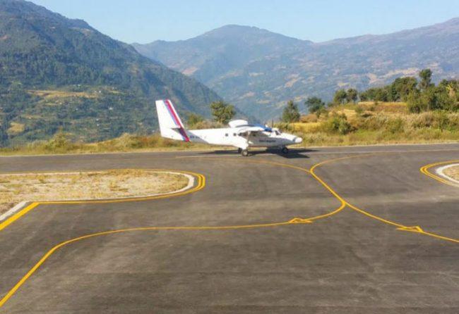 यात्रु अभावमा सुकेटार विमानस्थलमा उडान भएन