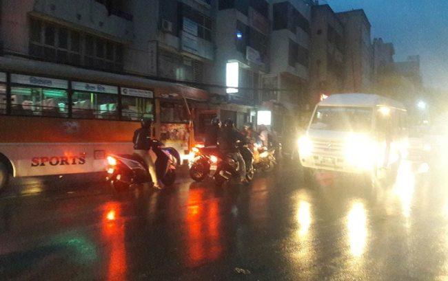 काठमाडौँको भोटेबहालमा बसको ठक्करबाट साइकल यात्रीको मृत्यु