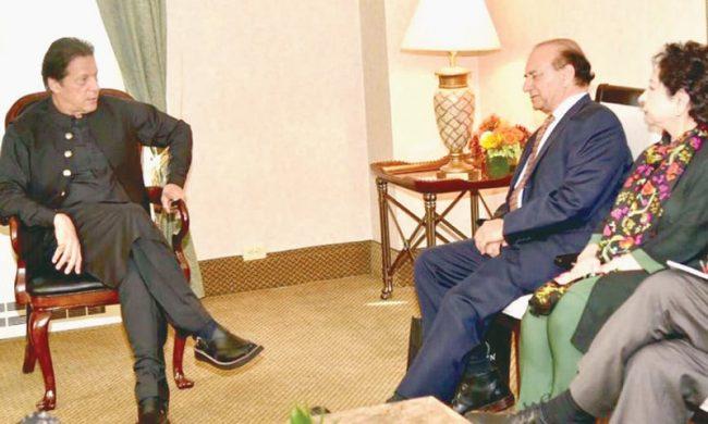 पाकिस्तानी प्रधानमन्त्रीद्वारा अमेरिकी सांसदलाई काश्मिरबारे 'व्रिफिङ'