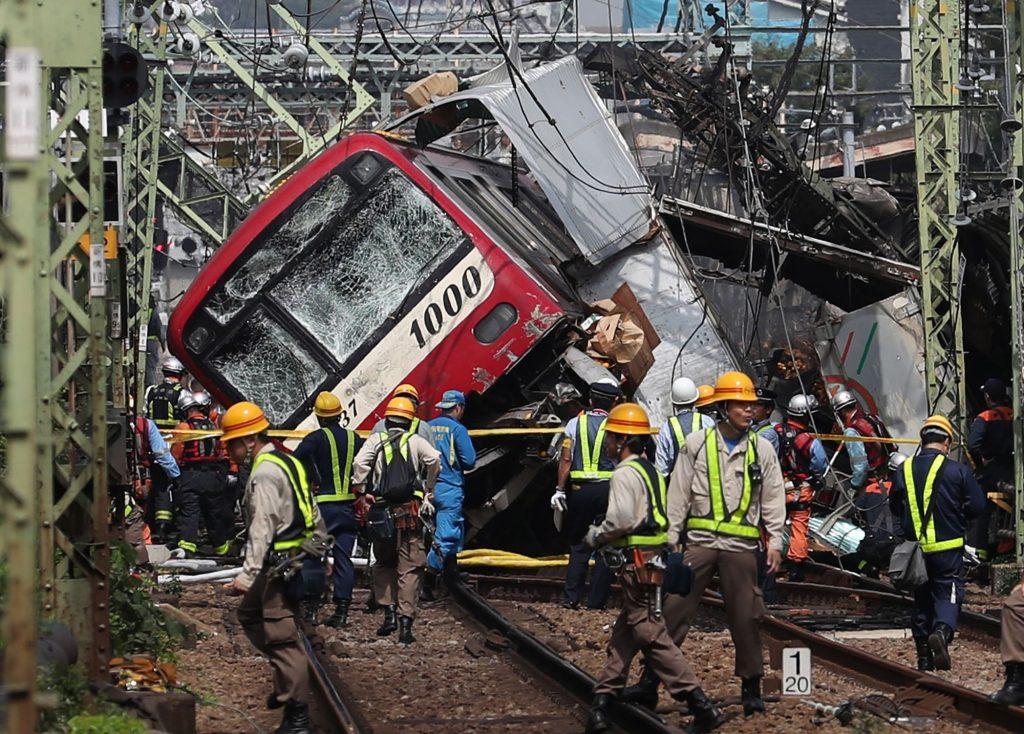 जापानमा रेल दुर्घटना एकको मृत्यु, ७ जना गम्भिर घाईते