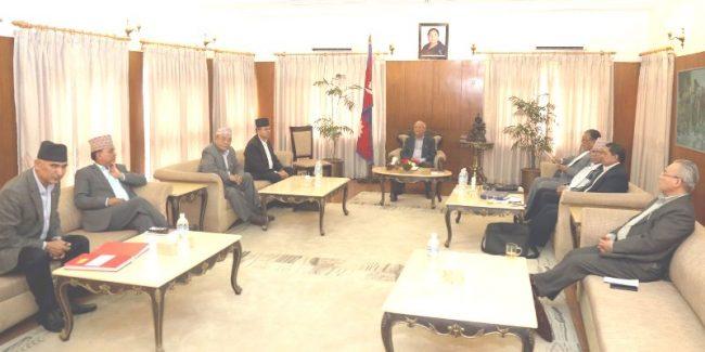नेकपा सचिवालय बैठक भोलि बस्दै