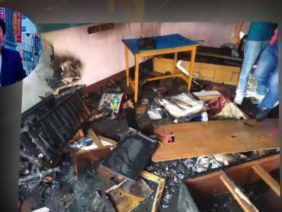 गायक राजेश पायल राईको घरमा आगलागि, अवार्ड तथा प्रमाणपत्रहरू जलेर नष्ट