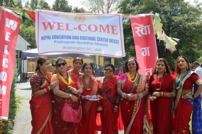 नेपाली मन्दिरमा तीज कार्यक्रम भव्यताका साथ सम्पन्न