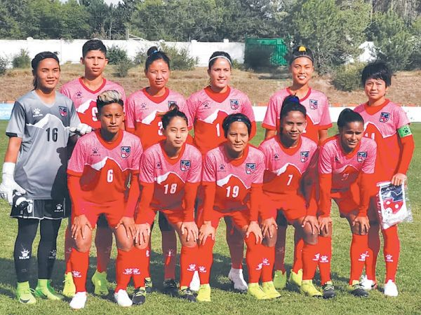 फिफा महिला वरियतामा नेपाल दुई स्थान तल