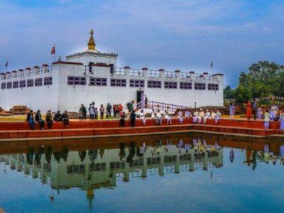 लुम्बिनीमा त्रिपिटक वाचन शुरु