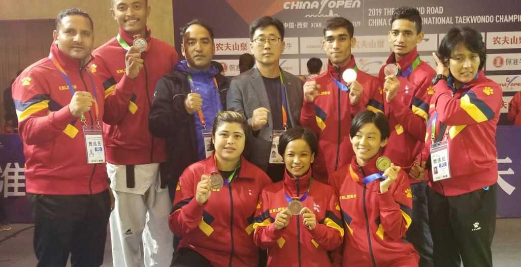 तेक्वान्दोमा नेपाललाई ३ कांस्य पदक