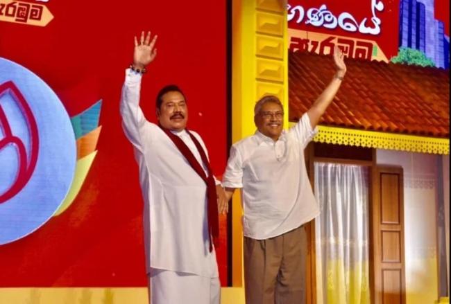 श्रीलंकाको सत्तामा लिट्टे सखाप गर्ने दाजुभाई